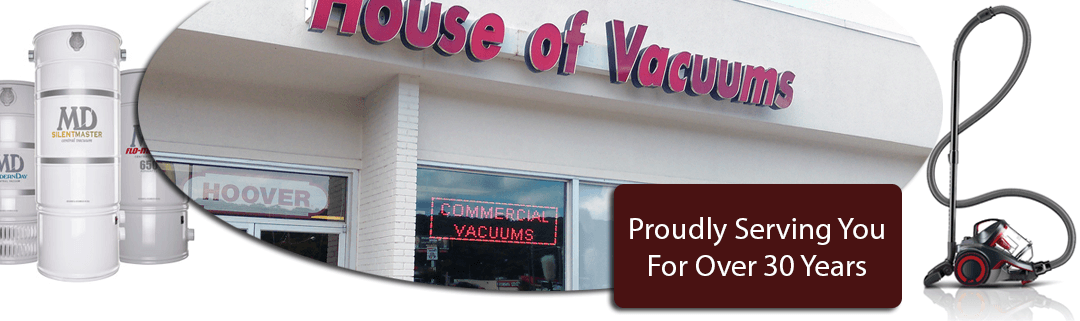 House of Vacuums Irondale Alabama Greater Birmingham Area providing vacuum cleaner sales service repair central vac systems