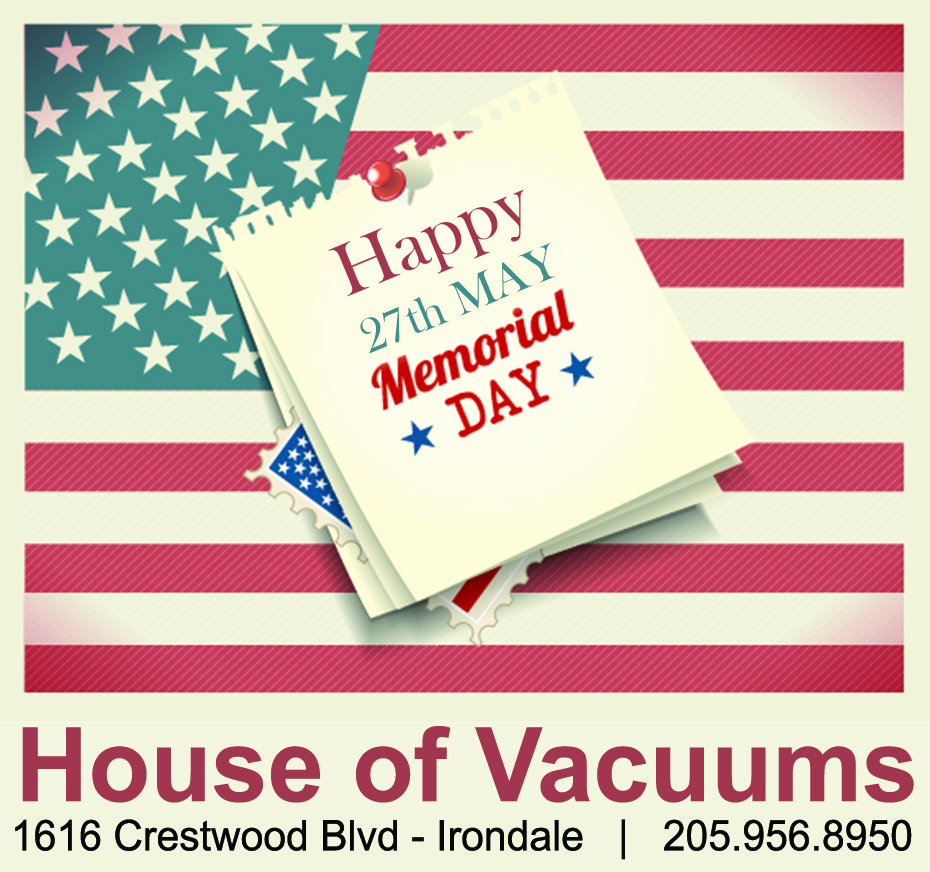Happy St. Patrick's Day 2016 from House of Vacuums Irondale.  Let us never forget those who gave the ultimate sacrifice for our freedoms.  HOV is your #1