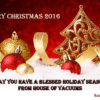 Merry Christmas 2016 - May You Have a Blessed Holiday Season from House of Vacuums Irondale | your #1 floor cleaning solution for vacuum cleaner | 205.956.8950