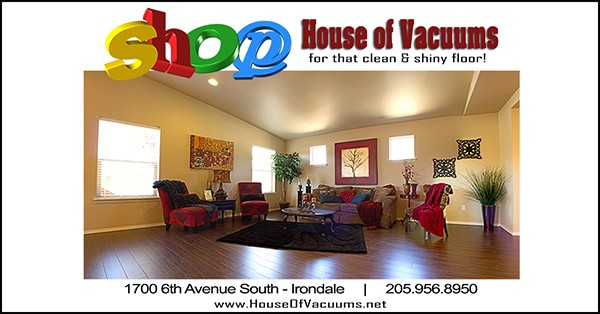 Shop House of Vacuums this holiday season! We are your #1 floor cleaning solution to keep your home clean and tidy - drop in today | 205.956.8950
